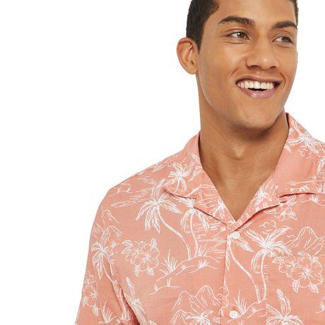 George Men's Resort Shirt - image 4 of 6