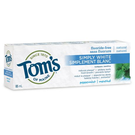 Toms of Maine Simply White FluorideFree Natural Toothpaste