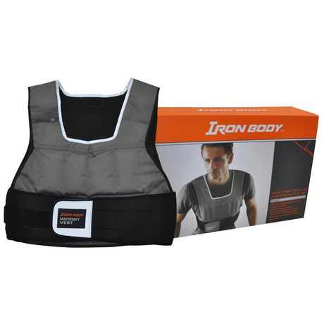 iron body fitness flex fit weight vest walmart canada