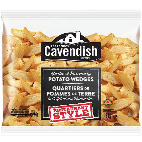Cavendish Farms Restaurant Style Garlic And Rosemary Potato Wedges - image 1 of 2