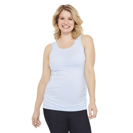 George Maternity Striped Jersey Tank - image 1 of 6