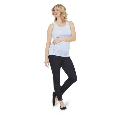 George Maternity Striped Jersey Tank - image 5 of 6