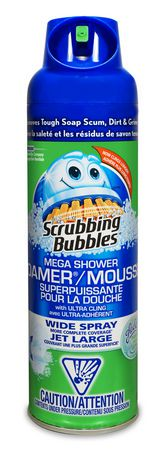 Scrubbing Bubbles Bathroom Cleaner Mega Shower Foamer Walmart Canada