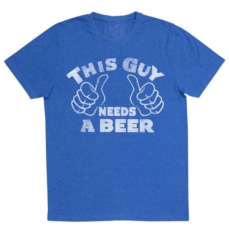 T-shirt à manches courtes pour hommes Needs a Beer - image 1 de 1