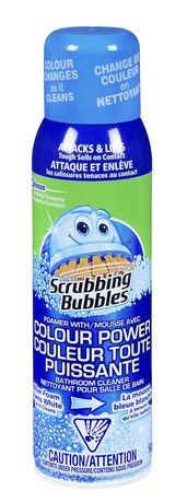 Scrubbing Bubbles Bathroom Cleaner Colour Power Walmart Canada