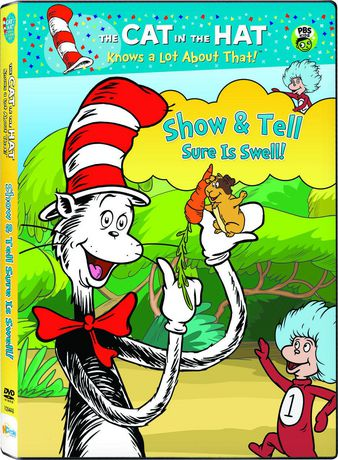 Cat in the Hat Knows a Lot About That! - Show and Tell Sure is Swell! (DVD) (Anglais) - image 1 de 1