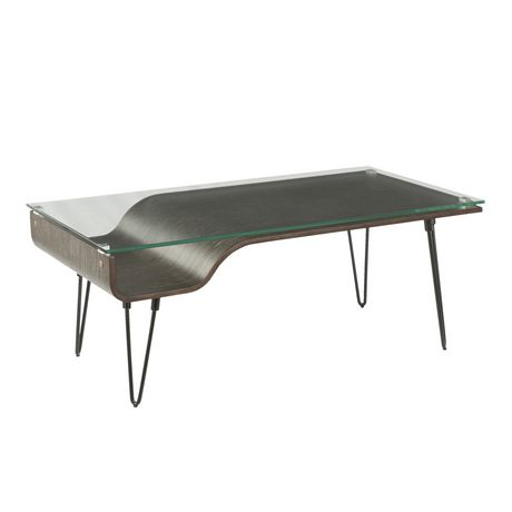 Avery Mid Century Modern Coffee Table By Lumisource Walmart Canada