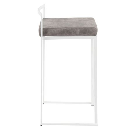 Fuji Contemporary Counter Stool by LumiSource - image 3 of 8