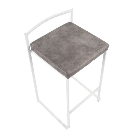 Fuji Contemporary Counter Stool by LumiSource - image 7 of 8