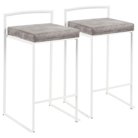 Fuji Contemporary Counter Stool by LumiSource - image 1 of 8