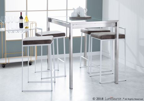 Fuji Contemporary Counter Stool by LumiSource - image 8 of 8