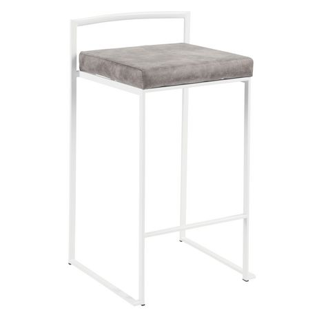 Fuji Contemporary Counter Stool by LumiSource - image 2 of 8
