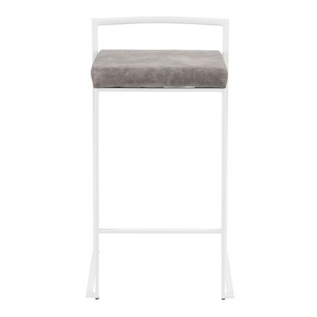 Fuji Contemporary Counter Stool by LumiSource - image 6 of 8