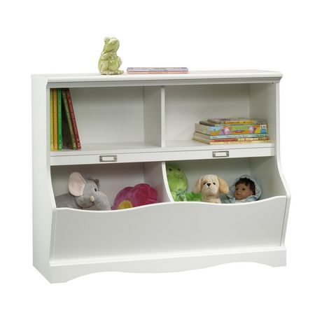 Sauder® Pogo Collection Bookcase/Footboard, Soft White, 414436 - image 1 of 3