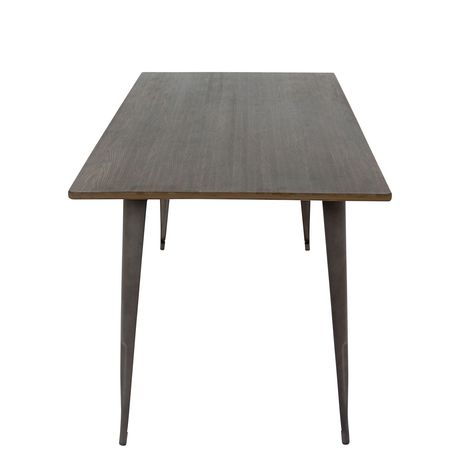 Oregon Industrial  Dining Table by LumiSource - image 2 of 7