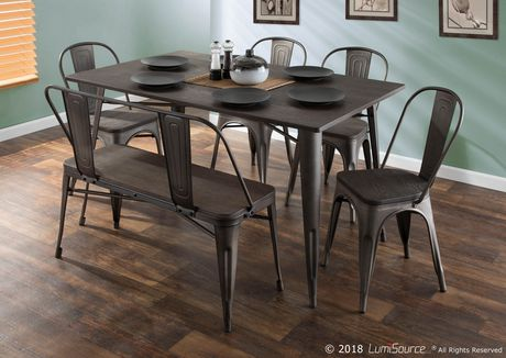 Oregon Industrial  Dining Table by LumiSource - image 7 of 7