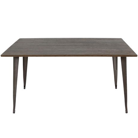 Oregon Industrial  Dining Table by LumiSource - image 4 of 7