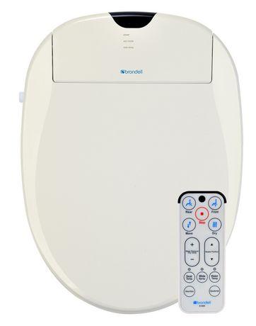 Siège de toilette Swash 900 de Brondell Bidet rond en blanc - image 1 de 3