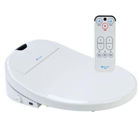 Siège de toilette Swash 900 de Brondell Bidet rond en blanc - image 1 de 5