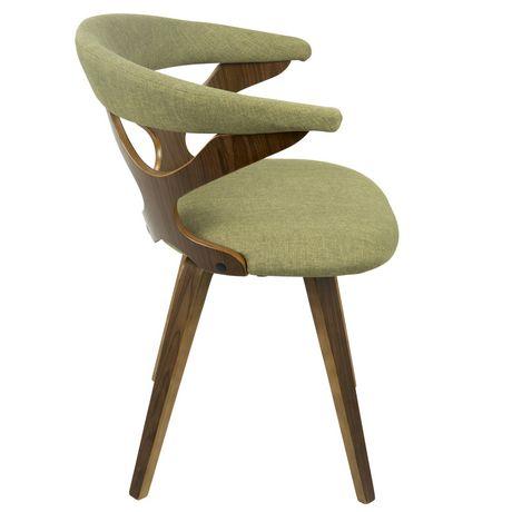 Gardenia Mid Century Modern Chair By Lumisource Walmart