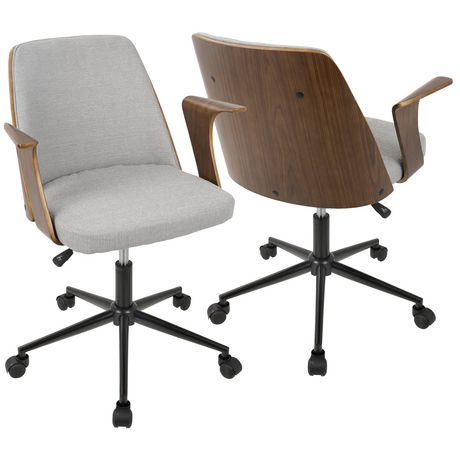 Verdana Mid Century Modern Office Chair By Lumisource Image