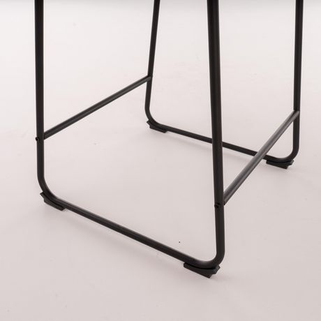 Cedric Vintage Brown Counter Stool - image 4 of 5