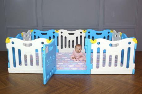 Baby Care FunZone Playpen - Sky Blue   Walmart Canada