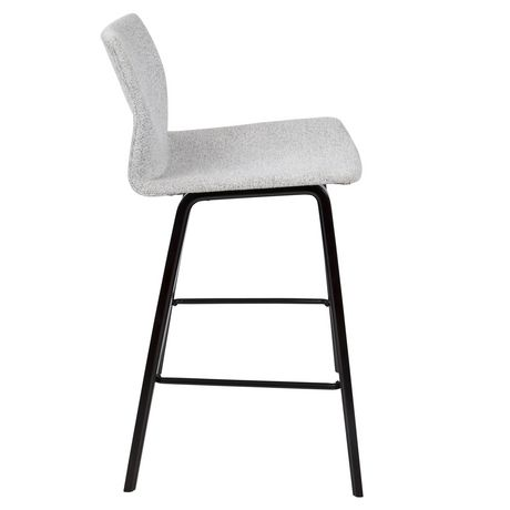 Cabo Mid-Century Modern Barstool by LumiSource - image 3 of 7
