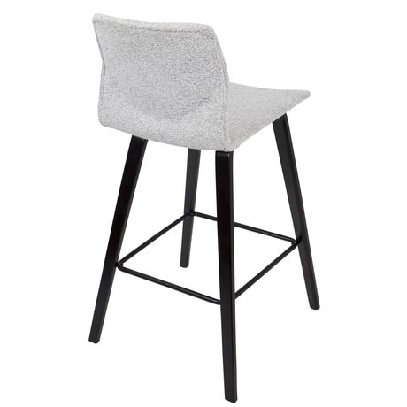 Cabo Mid-Century Modern Barstool by LumiSource - image 4 of 7