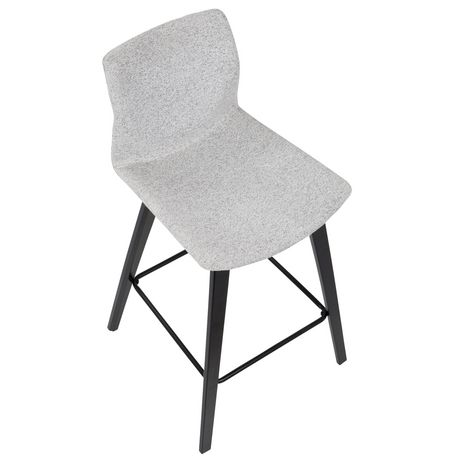 Cabo Mid-Century Modern Barstool by LumiSource - image 7 of 7