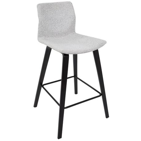 Cabo Mid-Century Modern Barstool by LumiSource - image 2 of 7