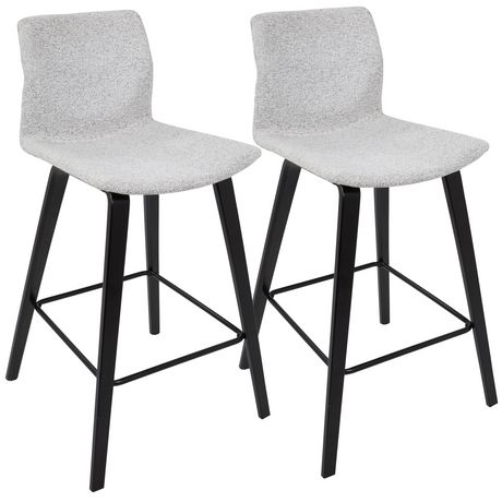 Cabo Mid-Century Modern Barstool by LumiSource - image 1 of 7