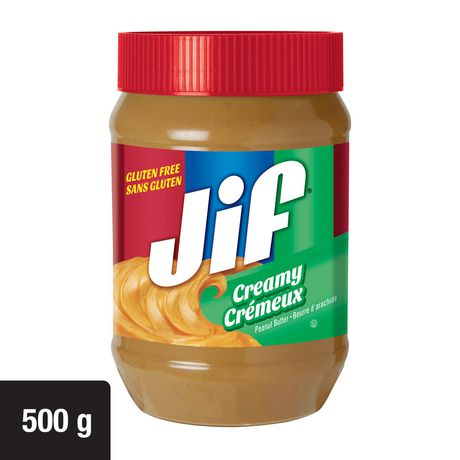 Jif Creamy Peanut Butter 500g - image 1 of 8