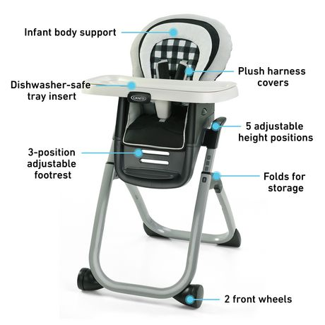 Graco DuoDiner DLX  Highchair - image 6 of 9