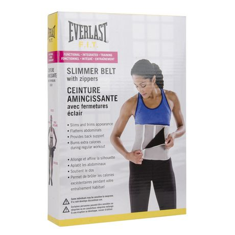7064530d0c Everlast Slimmer Belt with Zippers - image 1 of 2 ...