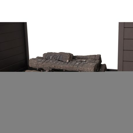 Sunjoy Napa Slate and Steel 63inch LP Fireplace Heating - image 5 of 9