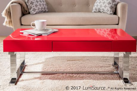Luster Contemporary Coffee Table by LumiSource - image 8 of 8