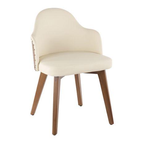 Ahoy Mid Century Modern Chair By Lumisource Walmart Canada