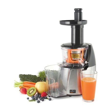 Salton Vitapro Low Speed Juicer Reviews : Salton vitaPro Low Speed Juicer - JE1372 Walmart.ca