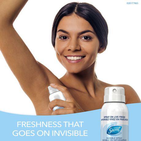 Secret Invisible Spray Boho Berry Antiperspirant And Deodorant - image 4 of 7