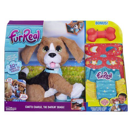 Furreal Friends Furreal Chatty Charlie, The Barkin Beagle White Aa