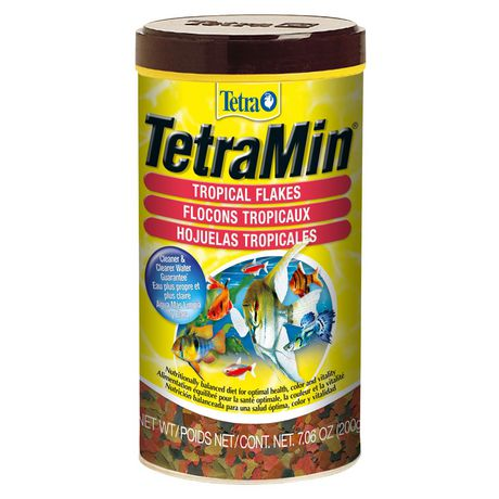 TetraMin Fish Food Flask for Tropical Fish 200g - image 1 of 4