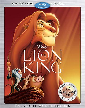 The Lion King (Blu-ray + DVD + Digital HD) - image 1 de 1