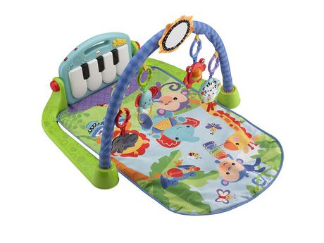 Fisher-Price Piano Gym, Kick And Play, Blue - image 1 of 9