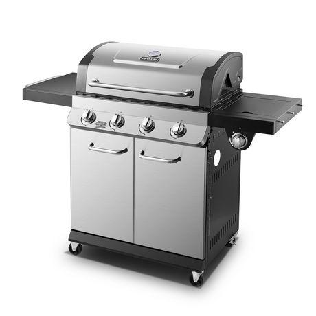 Premier 4 Burner Propane Gas Grill - image 1 of 9