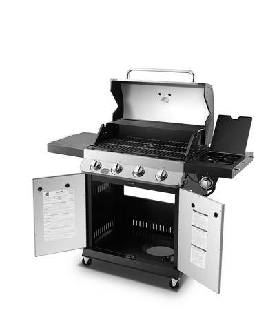 Premier 4 Burner Propane Gas Grill - image 8 of 9