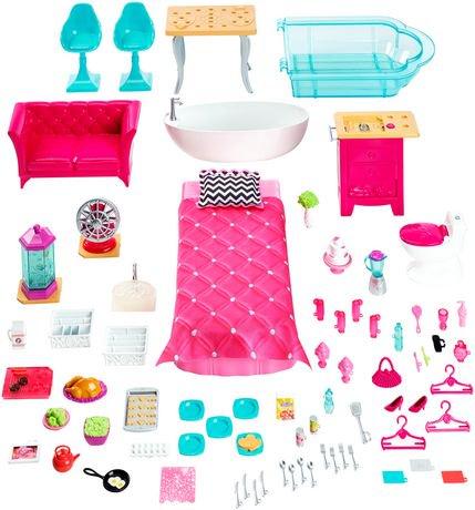Barbie maison de r ve walmart canada - Maison de reve de barbie ...