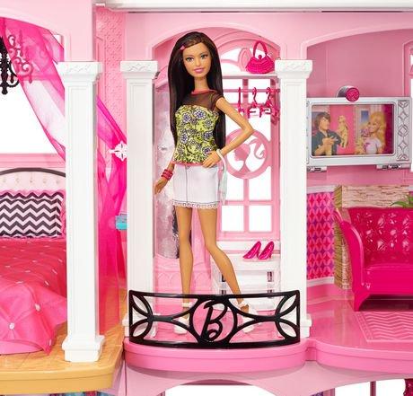 Barbie maison de r ve walmart canada - Barbie maison de reve ...