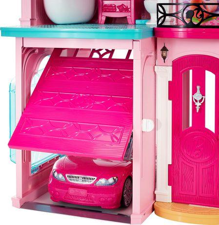 Barbie Dreamhouse Playset Ft 70 Accessories Walmart Canada