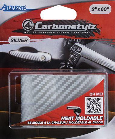 Wraptech Silver Carbon Wrap 2 Walmart Canada
